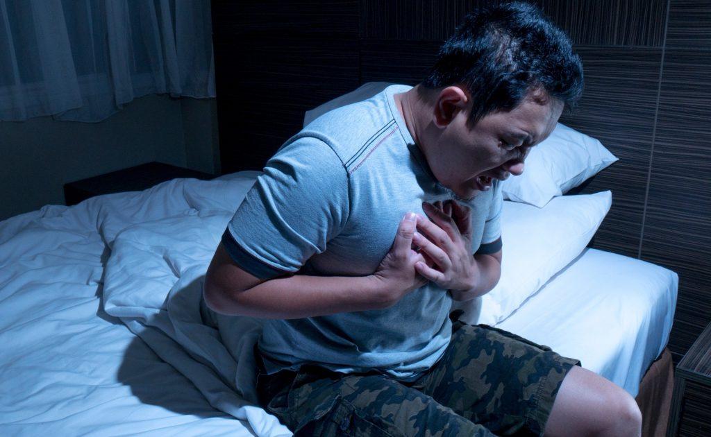 بیماری های قلبی ناشی از آپنه خواب