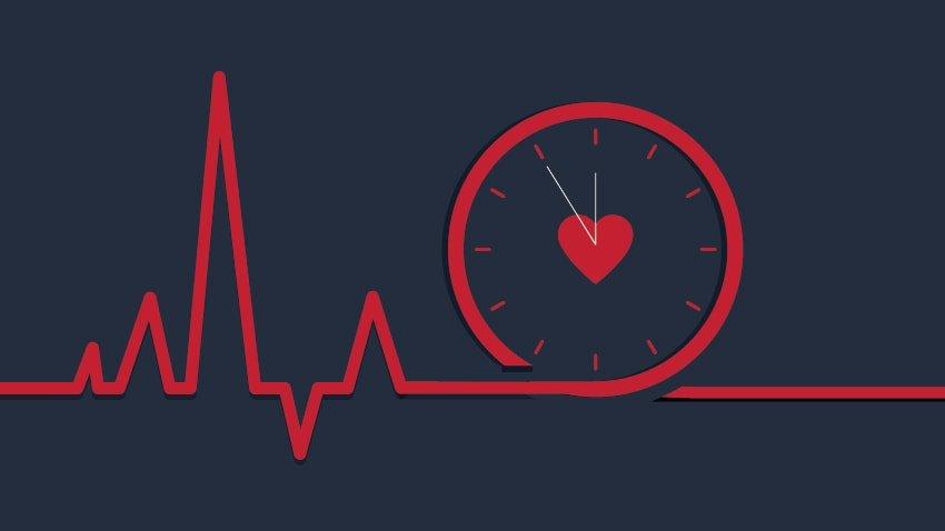 زمان طلایی سکته قلبی برای نجات بیمار چقدر است؟